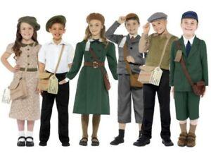 Kids-Wartime-Costume-School-Boys-Girls-World-War-Evacuee-Book-Day-Fancy-Dress