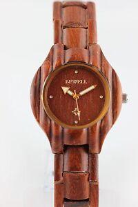 BEWELL-Horloge-en-bois-Montre-Femmes-Rouge-Bois-de-Santal-36mm-a-article