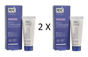 2-X-RoC-Multi-Correxion-5-In-1-Anti-Age-Moisturiser-Cream-15ml-Each