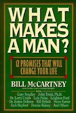 What Makes a Man? : Twelve Promises ...Bill McCartney (1993, Hardcover)