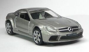 3-piezas-top-Gear-maqueta-de-coche-Mercedes-sl65-AMG-gris-plata-1-64-stig-power-series
