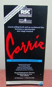 Barbara-Cook-CARRIE-Linzi-Hateley-Stephen-King-1988-FLOP-London-Tryout-Flyer