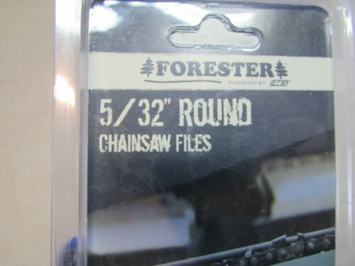 """2 Pack Forester Round Files 5//32/"""" x 8/"""" /& Handle For 3//8 LP 1//4/"""" Chainsaw Chain"""