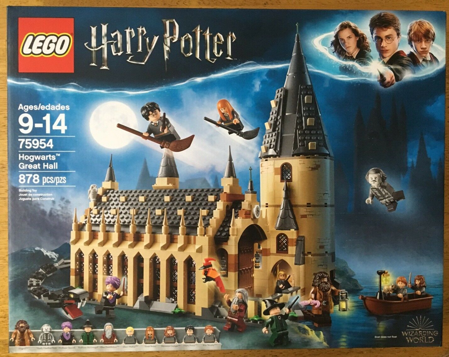 LEGO Harry Potter Hogwarts Great Hall 75954 Will Ship Inside Separate Box