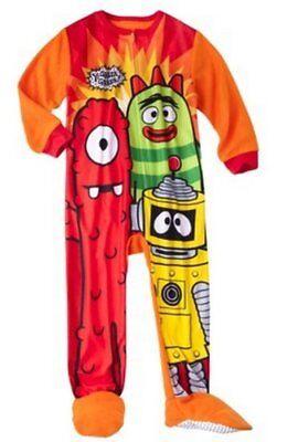 Yo Gabba Gabba Toddler Boys Blanket Sleeper Size 4T NWT