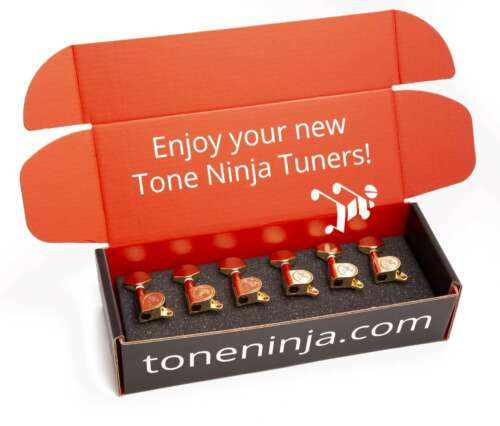 Gold 6 Inline Staggered Genuine Tone Ninja Tuners