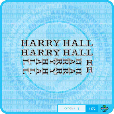 Harry Hall Bicycle Decals-Transfers-Stickers #1