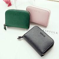 New Fashion Lady Women Retro Purse Clutch Wallet Short Small Bag PU Card Holder