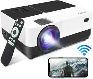 Proiettore WiFi 1080P 6500 Lumen FullHD Condiviso Schermo Cellulare