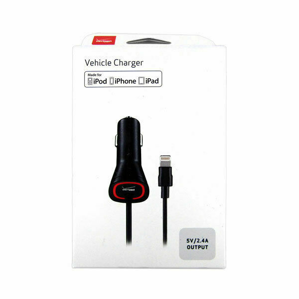 Verizon APLLIG24VPC F2 Apple iPhone Lightning Car Charger for sale online | eBay