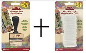 Adirondack Alcohol Ink Applicator and Replacement Felt Tim Holtz - Ranger
