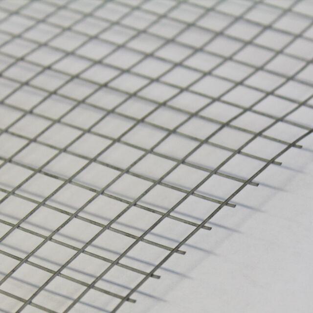 5x Welded Wire Mesh Panels 3\'x2\' Galvanised Steel Sheet 1\