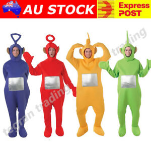 Image is loading Teletubbies-Costume-Party-Fancy-Dress-Up-Licensed-Outfit-  sc 1 st  eBay & Teletubbies Costume Party Fancy Dress Up Licensed Outfit Unisex ...