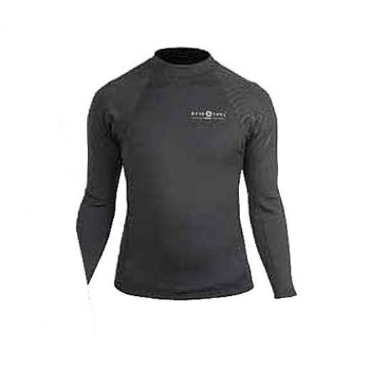 Aqua Lung 1MM Neoprene Women's Long Sleeve Scuba Divers Shirt - Small
