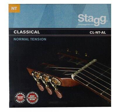 STAGG CL-NT-AL Saitensatz für Klassik-Gitarre Medium Angel Lopez