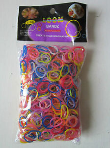 Colourful-Loom-Band-Refill-1-HOOK-APPROX-1000-BANDS-S-CLIPS