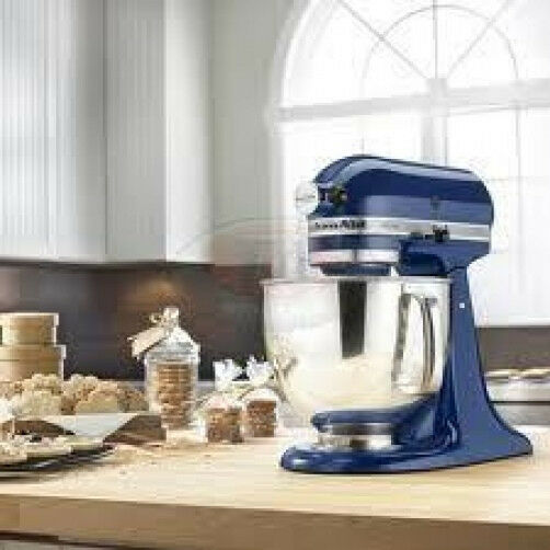 KitchenAid stand mixer Tilt 5-Quart KSM 150 psbw Artisan 10-sp bleu Willow NEUF