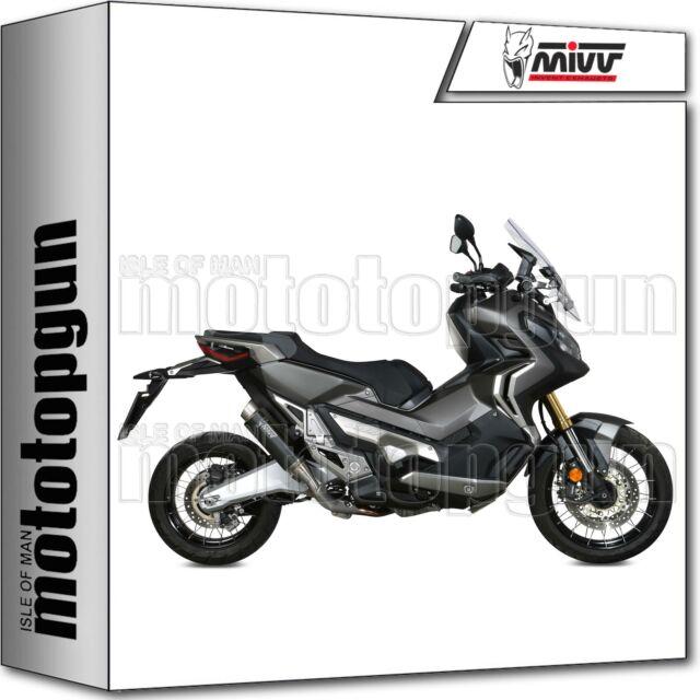 MIVV EXHAUST HOM GP-PRO STEEL BLACK HONDA X-ADV XADV 750 2020 20