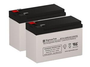 12V 7.2Ah F2 Replacement Battery Set for Fenton Technologies PowerPure M1000