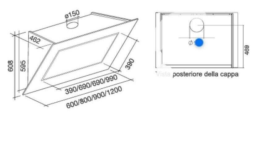 Emfang, Gerson Quasar 120 cm emfang , b: 120 d: 46 h: 60