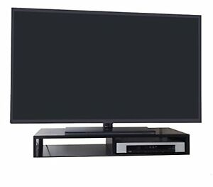 Tv Stand For Flat Screen Tabletop Riser Black Rizervue