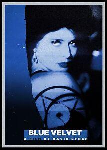 Blue-Velvet-FRIDGE-MAGNET-6x8-David-Lynch-Magnetic-Movie-Poster-HG