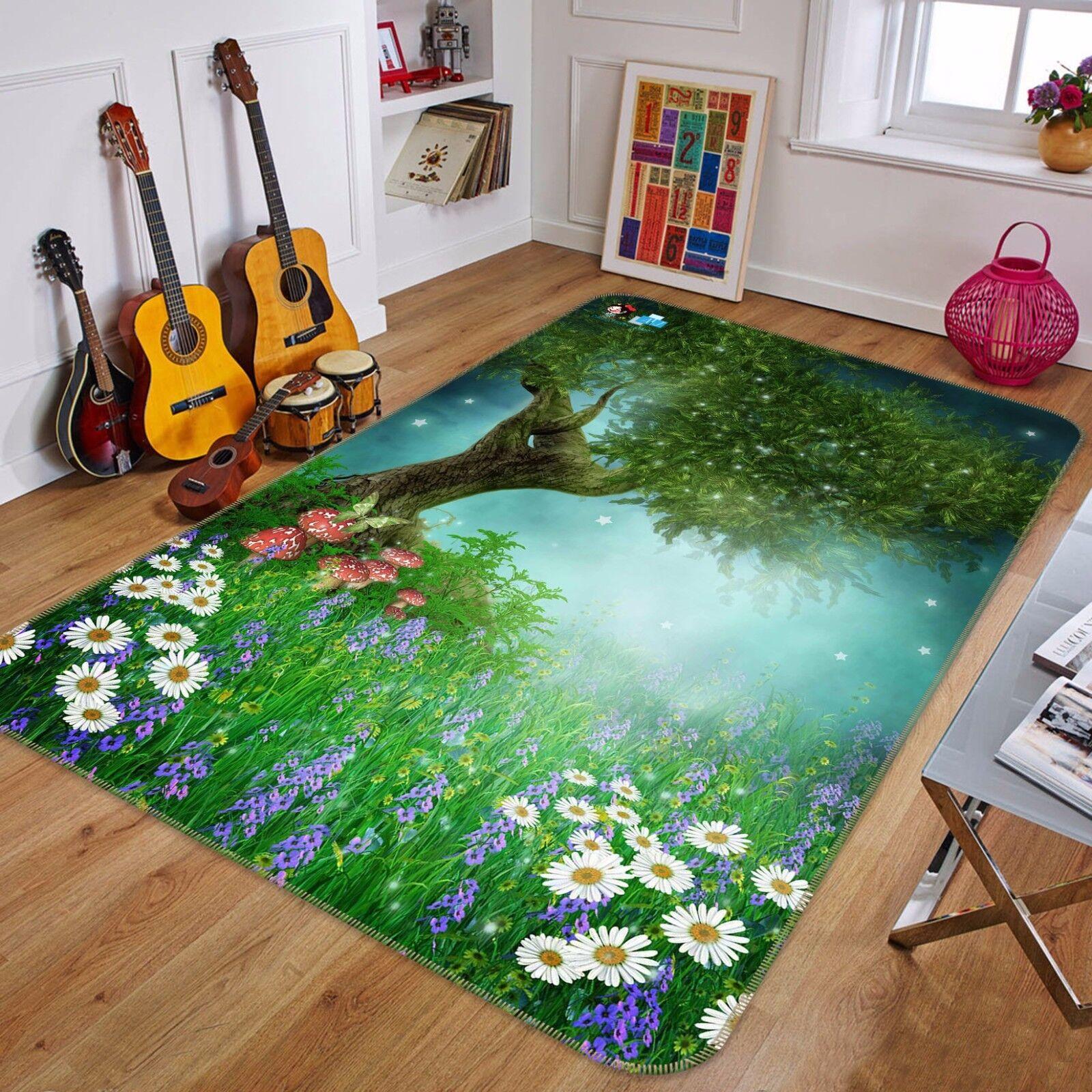 3D Grassland 418 Non Slip Rug Mat Room Mat Quality Elegant Photo Carpet AU Summe