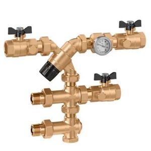 520155-Gruppo-di-controllo-temperatura-acqua-calda-35-65-C-DN20-3-4-034-CALEFFI