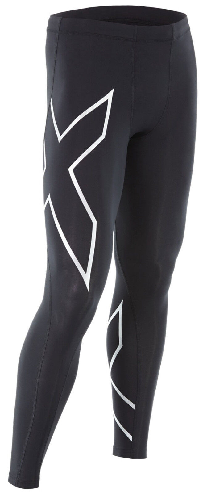 2XU Perform Long TR2 Compression Long Perform Tight Herren Schwarz/Silber MA3849b b50120