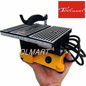 4 90w mini electric table saw bench top great for hobby for Who makes power craft tools