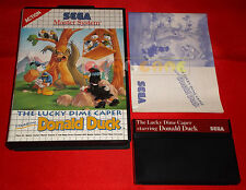 THE LUCKY DIME CAPER DONALD DUCK Master System Paperino - Europeo PAL ○ COMPLETO