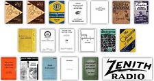 Volume 2 Antique Radio Servicing Library - 19 Books - Over 4 600 Pages on CD