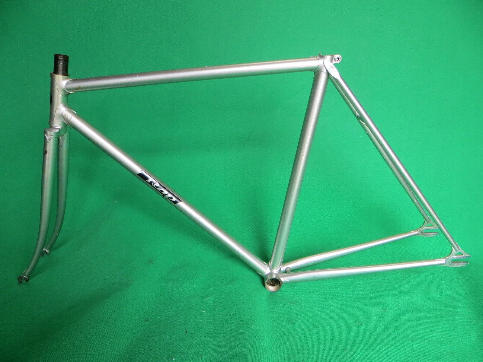 Bicicleta de pista keirin Marco de plata de rap fija de engranaje de una sola velocidad pista