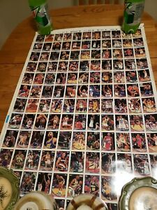 93-94-Topps-Series-Basketball-3-Uncut-Sheets-Mint