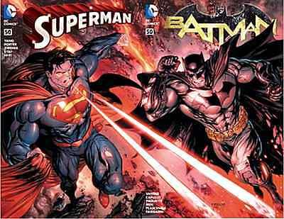 SUPERMAN 50 V4 BATMAN 50 V2 DELL OTTO BULLETPROOF COLOR VARIANT CONNECTING SET