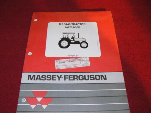 Massey Ferguson 3140 Tractor Original Dealer/'s Parts Book
