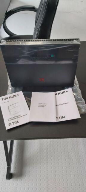 MODEM TIM HUB+ ZTE H388X 8 ANTENNE WI-FI 6 VDSL/FIBRA FINO 2 GIGA NUOVO