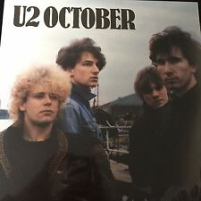 U2 - OCTOBER (remastered) - Vinyl LP - NEW AND SEALED