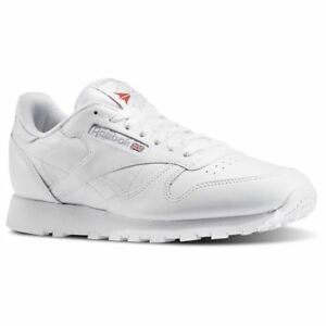 1f9320f5eb2 REEBOK 9771 CLASSIC LEATHER Mn s (M) White White Leather Lifestyle ...