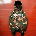 Men's hoodie hedging skateboard camouflage Thrasher Hip-Hop Sweatshirts