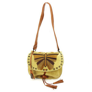 Dolce-amp-Gabbana-Shoulder-bag-Beige-Brown-Woman-Authentic-Used-T2368