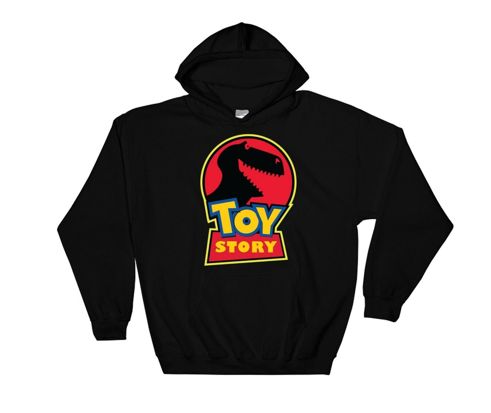 Toy Story Rex Hoodie Novelty Cool Gift Sweatshirt Jumper Pullover 4189