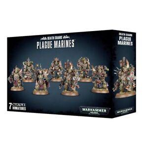 Plague-Marines-Chaos-Space-Marines-Death-Guard-Warhammer-40K-NIB-Flipside