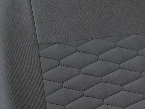 CAR SEAT COVERS fit Hyundai Terracan leatherette Eco leather grey