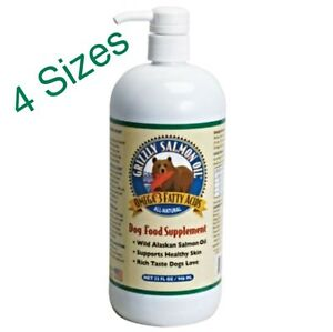 Grizzly-Wild-Salmon-Oil-from-Alaska-for-Dogs-4-Sizes-Omega-3-Fatty-Acids