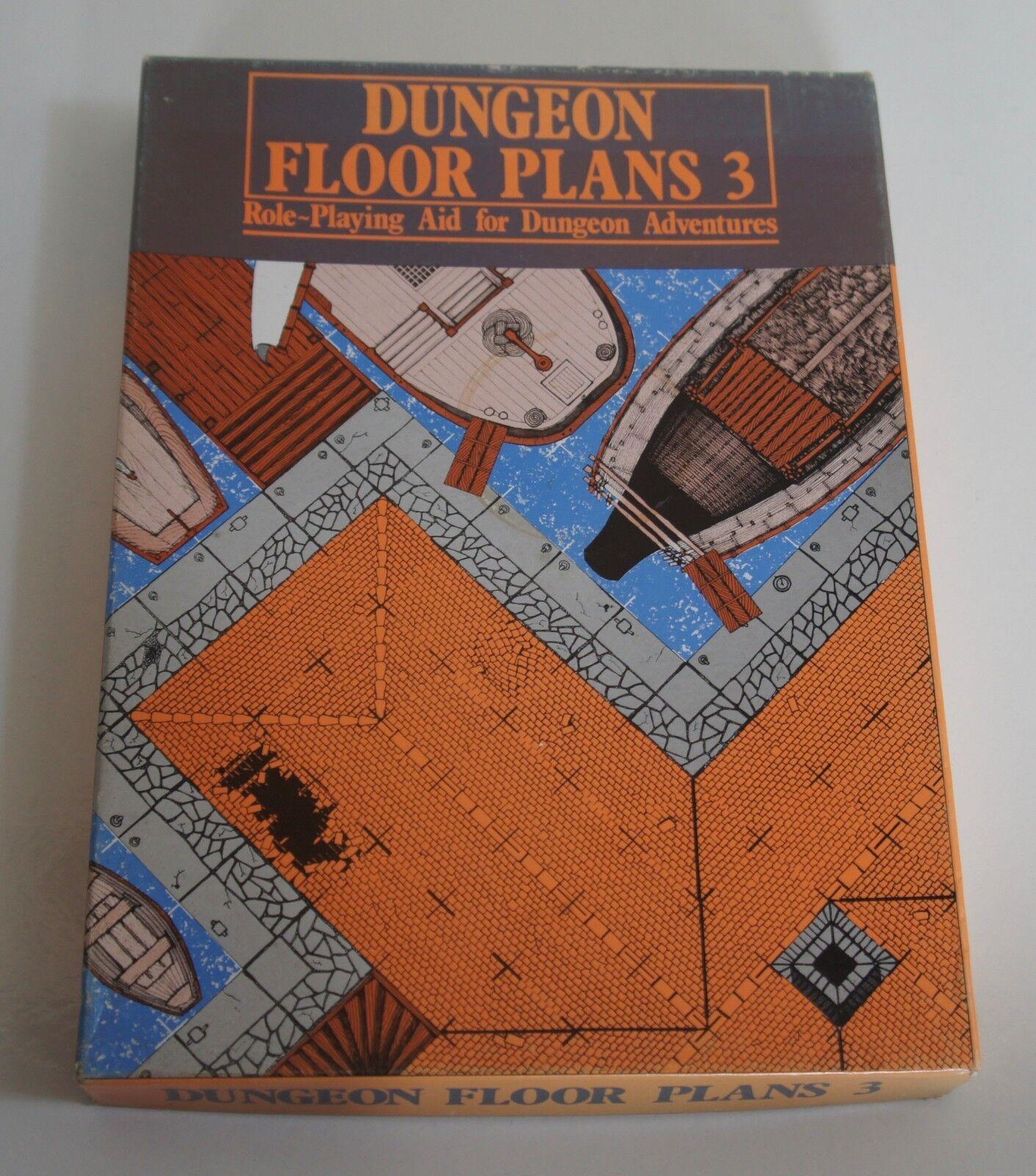 Games Workshop 1983 Dungeon Floor Plans 3