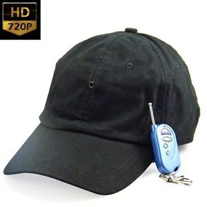 Ocio-HOBBY-Gorra-con-ESCONDIDO-SPY-Camara-de-video-Tono-Voice-Recorder-A83