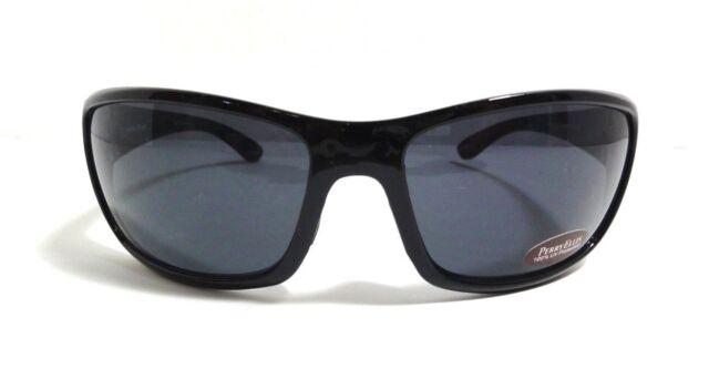 a879a2da93e Perry Ellis Mens Sunglass Crystal Black Plastic Wrap Solid Smoke Lens Pe05 2