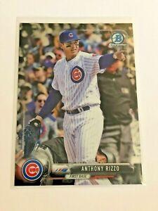 2017-Bowman-Chrome-Baseball-Base-Card-48-Anthony-Rizzo-Chicago-Cubs