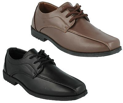 Great Sale Price! N1111 Boys JCDees Lace Up Formal Black Shoe